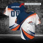 Denver Broncos Personalized Baseball Jersey 230