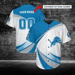 Detroit Lions Personalized Baseball Jersey 232