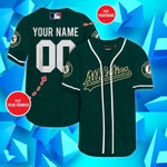 Oakland Athletics Personalized Baseball Jersey Shirt 55