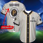 Pittsburgh Pirates Personalized Baseball Jersey 280