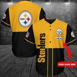 Pittsburgh Steelers Personalized Baseball Jersey Shirt 163