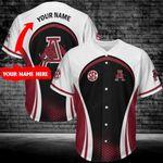 Arkansas Razorbacks Personalized Baseball Jersey 292