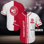 Atlanta Hawks Personalized Baseball Jersey Shirt 104