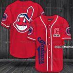 Cleveland Indians Personalized Baseball Jersey 323