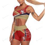 San Francisco 49ers Sport Bra & Trunks 162-1