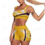 Pittsburgh Steelers Sport Bra & Trunks 170-1
