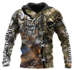 Bow Hunter Deer Over Printed 0612