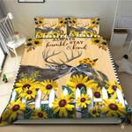 Deer Love Hunting Bedding Set