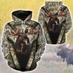Moose Hunting Camo All Over Printed 0701