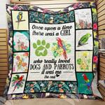 Parrot Quilt Blanket