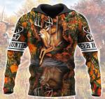 Deer Hunting Orange All Over Printed 3012