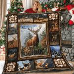 Hunting Deer Quilt