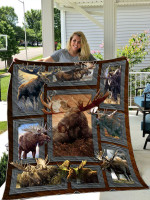 Moose Hunting Quilt