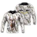 Deer Camo White 3D