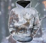 Love Deer Snow Hunting D1501