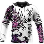Tatoo Deer Purple 3D 03