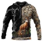 Deer Hunting Vertical All Over Printed 0612
