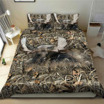 Moose Hunting Camo Bedding Set