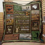 Hunting Quilt Blanket