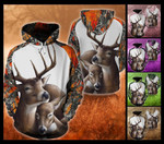 Deer Family Hoodie PHT112005A33VT1105