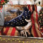 Deer Flag Quilt