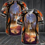 Deer Baseball Shirt