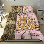 His Does Bedding Set