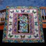 Butterfly Quilt Blanket
