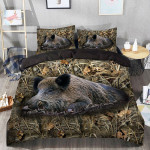Boar Hunting Camo Bedding Set
