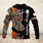 Boar Hunter Orange Black 3D