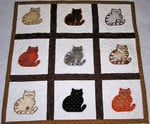 Cat Quilt Blanket