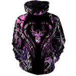 Deer Purple 3D