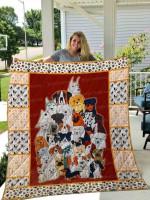 Dog Quilt Blanket