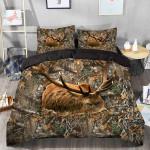 Deer Sleep Camo Bedding Set