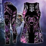 Owl Legging 3d purple