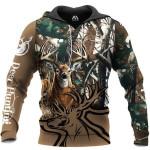 Deer Hunting Sleeve Brown 3D