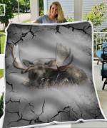 Moose Relax Blanket