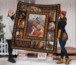 Horse Quilt Blanket