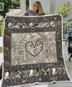 Duck Hunting Love Blanket