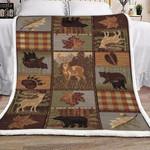 Hunting Fleece Blanket