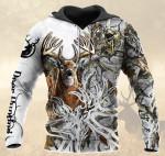 Deer Tatoo White HB 0212