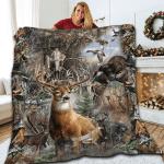 Deer Hunting Quilt HB