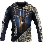 Deer Hunting Vertical Blue HB 1411