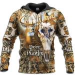 Deer Skull Broken 3D