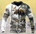 Moose Hunter White HB 1712