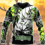 Elk Hunting Green T2303