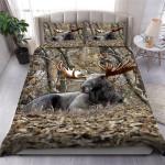 Moose Hunting Bedding Set