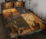 Couple Deer Hunting Bedding Set