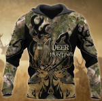 Deer Hunting Couple All Over Printed 1412