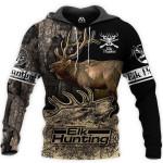 Deer Elk Hunting Art 3D 06